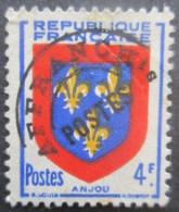 France Préoblitéré  N°105 ARMOIRIE D'ANJOU Sans Gomme - Stamps