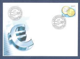 Euro Coins  2014  Stamp FDC Mi 807 - Estonia