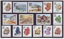 D110301 South West Africa 1989 Namibia GEM STONES MINING Definitive Set MNH - Afrique Du Sud Afrika RSA Sudafrika - Namibia (1990- ...)