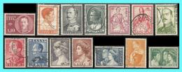 "GREECE- GRECE - HELLAS 1957: Royal Family ""B"" Compl. Set Used - Greece"