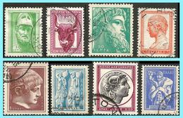GREECE- GRECE- HELLAS 1958: Ancient Greek Art III Compl. Set  Used - Greece