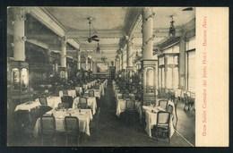 BUENOS AIRES - PARIS HOTEL - GRAN SALON COMEDOR - Argentina