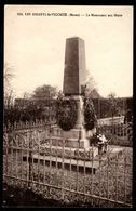 51 - LES ESSARTS LE VICOMTE (Marne) - Le Monument Aux Morts - Autres Communes