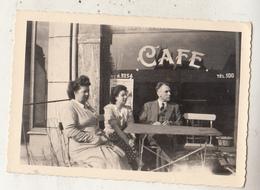 Bastogne - Café - 1949 - Photo Format 6.5 X 9.5 Cm - Lieux