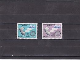 Peru Nº 477 Y A206 - Peru