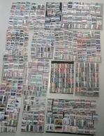 Monde/World - 12.750 Timbres° En + De 500 Bottes Différentes De 25 - 12.750 Stamps More Than 500 Different Bundles Of 25 - Stamps