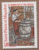 WP7L5 St Pierre Et Miquelon SPM **  1996 Tonnelier - Unused Stamps