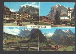 Grindelwald - Mehrbildkarte - VW - Train / Zug - BE Berne