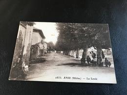 2853 - ANSE (Rhone) La Levée - Anse