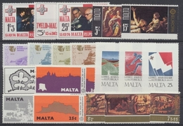 Malta, Michel Nr. 505-523, Jahrgang 1975, Postfrisch/MNH - Malta