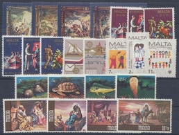 Malta, Michel Nr. 584-606, Jahrgang 1979, Postfrisch/MNH - Malta