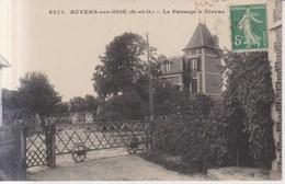 Auvers Sur Oise Le Passage A Niveau  1911 - Auvers Sur Oise