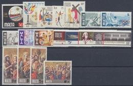 Malta, Michel Nr. 524-541, Jahrgang 1976, Postfrisch/MNH - Malta