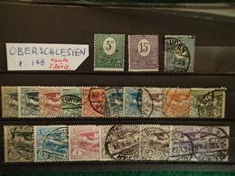 Haute Silésie - Oberschlesien - Collection - Allemagne