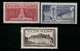 Polen, MiNr. 824-826, Postfrisch / MNH - Pologne