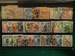 Chine - Collection - 34 Timbres - Chine