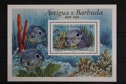 Antigua+Barbuda-Barbuda, Fische / Meerestiere, MiNr. Block 162, Postfrisch / MNH - Antigua Und Barbuda (1981-...)