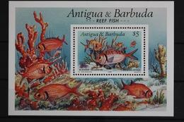 Antigua+Barbuda-Barbuda, Fische / Meerestiere, MiNr. Block 163, Postfrisch / MNH - Antigua Und Barbuda (1981-...)