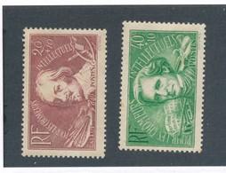 FRANCE - N°YT 330/31 NEUFS* AVEC CHARNIERE - COTE YT : 6€ - 1936 - France