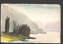Lugano - Sent - 1958 - Artwork - TI Tessin