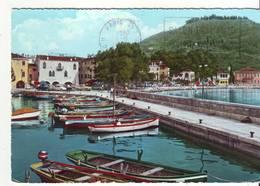 CPM/CPSM - LAGO DI GARDA  - Ll Porto E La Casa Dei Capitani - Italia