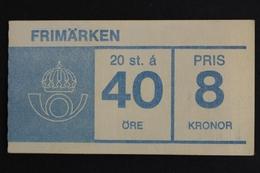 Schweden, MiNr. 522 D, MH, Postfrisch / MNH - Schweden