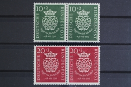 Deutschland (BRD), MiNr. 121-122, Waagerechte Paare, Postfrisch / MNH - BRD