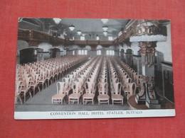 Convention Hall  Hotel Statler     Buffalo  New York    -------- Ref 3377 - Buffalo