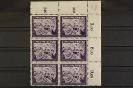 Deutsches Reich, MiNr. 893, 6er Block, Ecke Re. Oben, Postfrisch / MNH - Allemagne
