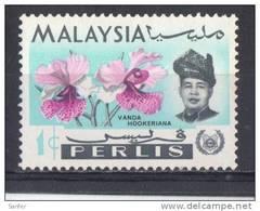 Malasia ( Estado De Perlis ) 1965  -  Michel  40    ( Usados ) - Malaysia (1964-...)