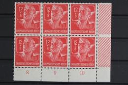 Deutsches Reich, MiNr. 895, 6er Block, Ecke Re. Unten, Postfrisch / MNH - Deutschland