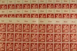 Deutsches Reich, MiNr. 859, über 230 Marken, Postfrisch / MNH - Allemagne