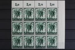 Deutsches Reich, MiNr. 662, 12er Bogenteil, Ecke Re. Oben, Postfrisch / MNH - Deutschland