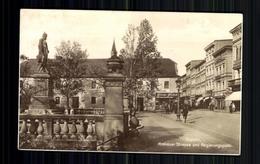 Oppeln, Krakauer Strasse Und Regierungsplatz - Schlesien