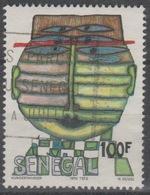 Sénégal 1979 1980 Mi. 706 Friedensreich Hundertwasser 100 F Used Oblitéré RARE - Senegal (1960-...)