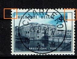 861  Obl Centrale Et Très Belle Cu  Bleu Décalé Vers La Gauche  A VOIR - Abarten Und Kuriositäten
