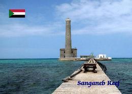 Sudan Sanganeb Reef UNESCO Lighthouse New Postcard Leuchtturm AK - Soedan