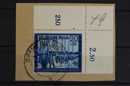 Deutsches Reich, MiNr. 892, Ecke Rechts Oben, Briefstück - Deutschland