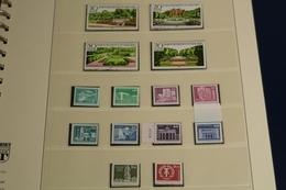 DDR 1980-1990, Fast Komplette Sammlung Auf Lindner T Vordruckblättern - Collections