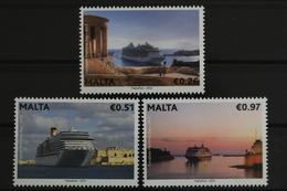 Malta, Schiffe, MiNr. 1819-1821, Postfrisch / MNH - Malta
