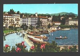 Lugano - Il Lungolago - Boat / Boot / Bateau - Animation - TI Tessin