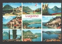 Lugano - Saluti Di Lugano - Multiview - TI Tessin