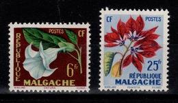Madagascar - YV 336 & 337 N** Fleurs - Madagascar (1960-...)