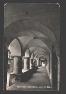 Rapperswil - Altstadtpartie, Unter Den Bögen - Fotokarte - 1957 - SG St. Gall