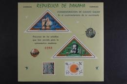 Panama, MiNr. Block 36, Galileo Galilei, Postfrisch / MNH - Panama