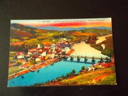 CPA 64 - BEHOBIE - Le Pont International Franco-espagnol Et Béhobia, La Bidasson Et L'Ile Des Faisans - Béhobie