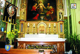 Set 10 Cartes Postales, Bâtiments , Churches Of Belgium, Burst, Sint-Martinuskerk (2) - Chiese E Cattedrali