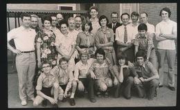 BALEGEM   FOTO 1973 ?  15 X 9 CM   UITREIKING MEDAILLES TE BALEGEM - Oosterzele