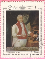 Cuba -  1972 - Culture - Art - Paintings From The Metropolitan Museum, Havana - 1 C. - Used Stamps