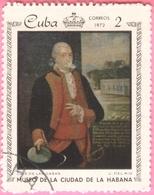 Cuba -  1972 - Culture - Art - Paintings From The Metropolitan Museum, Havana - 2 C. - Used Stamps